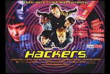 HACKERS Movie POSTER 27x40 B Felicity Huffman Jonny Lee Miller Angelina Jolie