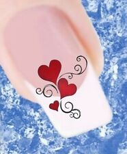 20 Nail Tattoos Herzen rot Ornament  435 Sticker Nailart