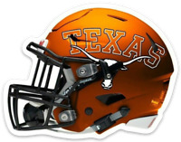 "Texas University Longhorns Football Helmet w/ ""Texas Logo & Bevo on Side"" MAGNET"