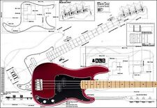 Precision-Style Bass Full-Scale Plan