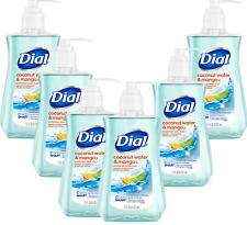 Dial Liquid Hand Soap, Coconut Water & Mango, 7.5 Ounce