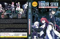 Trinity Seven (Chapter 1 - 12 End + OVA + 2 MV) ~ All Region ~ English Version ~
