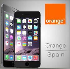 Spain Orange iPhone X 8 8+ 7 7 SE 6 6+ 6s 6s+ 5s 5c 5 PREMIUM UNLOCK 1-3 day