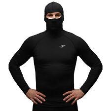 Takefive 108_Men's Compression Shirt Hood T-shirt Ski & Snow Cycling Running