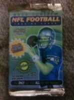 1x 2000 PACIFIC sealed unopened football card pack TOM BRADY RC 10?
