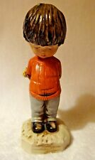 1971 Moppets Shy Boy Child Fran Mar Collectible Figurine