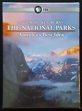 THE NATIONAL PARKS AMERICAS BEST IDEA By KEN BURNS & PBS DVD NEW/SEALED