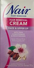 Nair Hair Removal Cream Face & Upper Lip with Skin Conditioners & Moisturizers