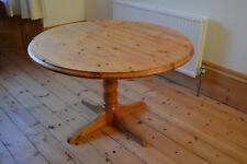 ROUND PINE CIRCULAR TABLE