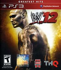 WWE 12  PS3 - Greatest Hits