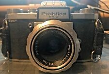 Vintage Praktica FX 2 WLF Waist level finder camera 1:2.8/50