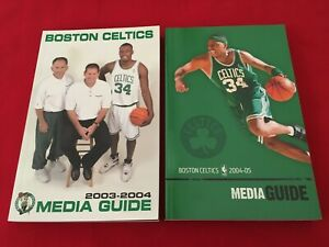 NBA Boston Celtics media guide yearbook / You pick 'em / Box 2020 / Pierce