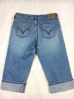Levi's 515 Capri Denim Jeans - Women's Size 6