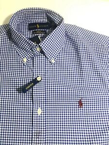 Men's Polo Ralph Lauren Slim Fit Button stretch Shirts new with tag ** S size***