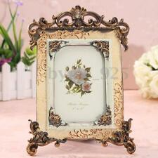 Retro Vintage Brown Resin Picture Frame Photo Frame Home Decor 16 x 26cm Picture