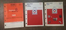 Delco Remy Truck Parts Book Truck 1946-1979 Chevy Ford GMC Studebaker Kenworth