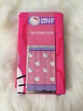 Hello Kitty  Fabric Shower Curtain