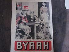 COMPOSITION COULEUR 20ème PUBLICITE BYRRH CHASSE CHIEN