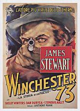"Classic Western, 20""x14' Movie Poster, Winchester '73, James Stewart, VIntage"