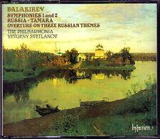 Evgeny SVETLANOV: BALAKIREV Symphony No.1 2 Russia Tamara HYPERION 2CD Sinfonien
