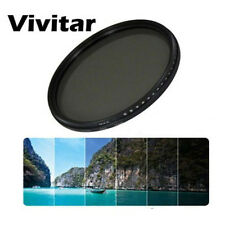 Vivitar 62mm Neutral Density Variable Fader NDX Filter ND2 to ND1000 62 Eclipse
