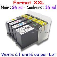 Cartouches d'encre compatibles LEXMARK : Série 100 XL ( 4 couleurs )