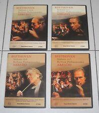 4 Dvd BEETHOVEN Sinfonie 1 2 3 4 5 6 7 8 9 CLAUDIO ABBADO BerlinerPhilharmoniker