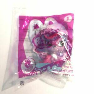 Littlest Pet Shop, Happy Meal toy#1 - Trent, SEALED-NEW, McDonald's/Hasbro, 2014