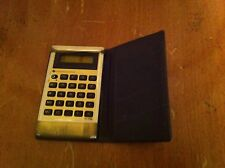vintage Texas Instruments brand Ti-1750 calculator with case Electronics Rare