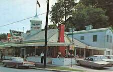 Gatlinburg Tennessee Chimney House Restaurant Exterior Vintage Postcard K29164