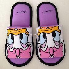 Women Men Adult Disney Daisy Duck Plush Slippers Shoes