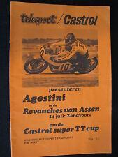 Program Revanches van Assen Circuit Zandvoort 14 juli 1977 (TTC)