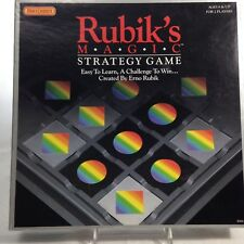 Erno Rubik's Magic Strategy Game 2 Player Matchbox Cards Tiles Flip Challenge 8+