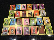 RARE PLANTS VS ZOMBIES STOP ZOMBIE MOUTH TRADING 52 CARD LOT MISSING 35 AND 45