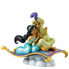 Disney A Whole New World Jasmine & Aladdin Figurine NEW in Gift Box