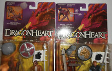 DRAGONHEART: BOWEN & HEWE ACTION FIGURES 1995 KENNER MOC CATAPULT