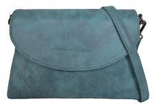 FRITZI AUS PREUßEN: Tasche Umhängetasche Clutch Nana Blau Vintage NEU