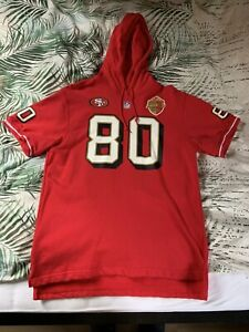 San Francisco 49ers Jerry Rice Hoody Mitchell & Ness L NFL