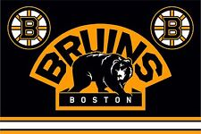 Flag HC Boston Bruins (U.S.A.) for hockey fans & NHL 90х135 cm NEW !!!