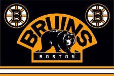 Flag HC Boston Bruins (U.S.A.) for hockey fans & NHL 90х135 cm NEW !!!
