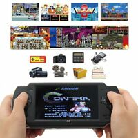 "2018 4.3"" X6 Handheld Video Game Console 32 Bit Built-in 1000 Free Retro Games"