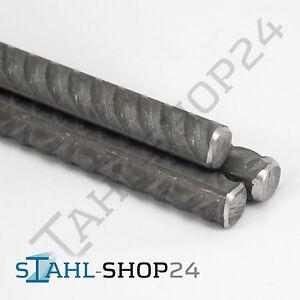 500mm Betonstahl /Ø 14 mm Bewehrungsstahl Moniereisen Rundstahl Baueisen DIN 488 L= 500-2000mm