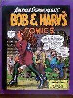1996 Bob & Harv's Comics Harvey Pekar R. Crumb American Splendor 1st Printing