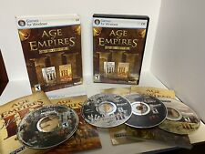 Age Of Empires 3 III Gold Edition + The War Chiefs PC 2007 COMPLETE