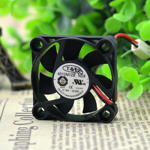 T&T 4010M12F ND8 12V 0.16A 40*40*10mm 2pin