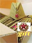 Pilotka, Russian military garrison field cap USSR World War II Souvenir Gift