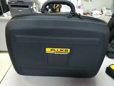 """FLUKE BIOMEDICAL CASE, O.D. L 17""""-H 12'-D 6.5"""", WITH HANDLE AND CARRY STRAP"""