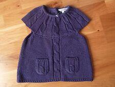 pull sans manche fille -18 mois - mailles violet -Kidkanaï