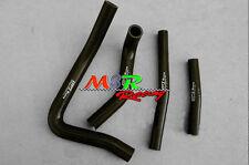 for Suzuki RM250 RM 250 1999 2000 99 00 silicone radiator hose black