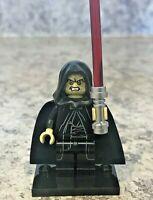 Genuine LEGO STAR WARS Minifigure - Emperor Palpatine - Complete - sw0634